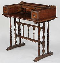 Ladys writing desk with fitted interior.