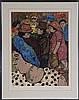 DAVID AZUZ (Israeli/French, b. 1924), David Azuz, $10