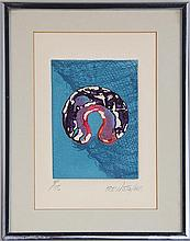 Abstract relief print (20th century)