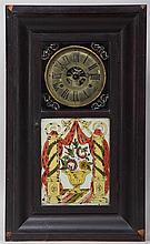 Chauncey Jerome 19th century Ogee shelf clock