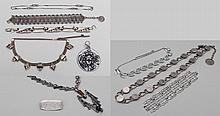 Group of (7) costume jewelry