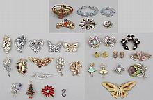 Group of (30) costume jewelry
