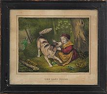 'The Lost Child'', hand colored lithograph