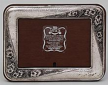 Greek 950 silver picture frame.