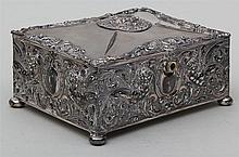 Reed & Barton silverplate box.