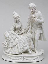 Capodimonte courting couple.
