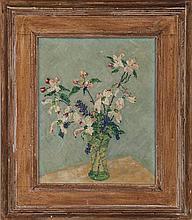JOHN JAMES WELLS (American, 1873-1951), floral sti