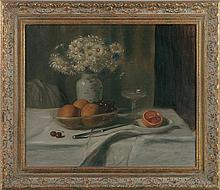 American School (19th/20th century), still life wi