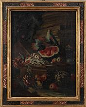 Old master (18th century) still life with fruit, f