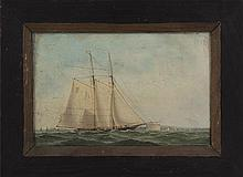 American School (early 20th century), schooner por