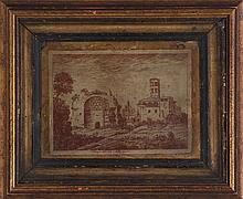 Italian School (18th century), ''Tempio del Sole e