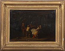 Continental School (18th century), interior scene