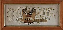 American Centennial 1876 stitchery