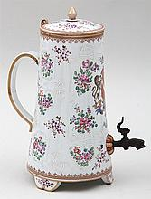English Samson porcelain teapot