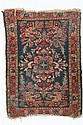 Small oriental rug.