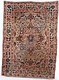 Oriental rug, 5ft9in h x 4ft6in w.