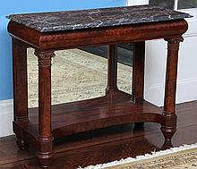 19th century American classical pier table