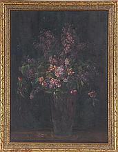 KATHARINE PAYNE, floral still life, o/b.
