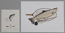 Group of (2) prints to include: 1) JOHN ATHERTON (