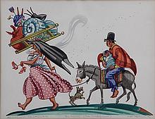 ADA PEACOCK (Argentinean/American, 20th century),