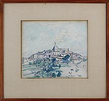 OWEN MERTON (New Zealander, 1887-1931), city set o