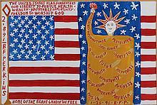 BENJAMIN FRANKLIN PERKINS (American, 1904-1993), f