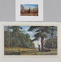 Group of (2) prints to include; A.L. RIPLEY ( Amer