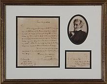 Andrew Jackson (1767-1845), August 23, 1821, signe