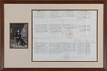 Franklin Pierce (1804-1869), July 24, 1854, signed