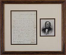 Zachary Taylor (1784-1850), February 4, 1850, sign