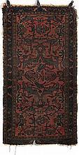 Oriental rug 4'6''l, 2'7''w.