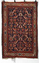 Oriental rug 6'2''l, 3'9''w.
