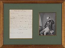 Horatio Nelson (1758-1805), February 28, 1804, sig