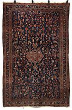 Oriental rug. 6'8''l, 4'4''w.