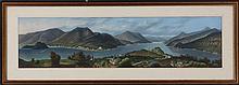 Italian School (19th century), ''Lago Di Como'', g