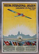''Meeting International D'Aviation, Lausanne 29 Ma