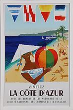JEAN DUBOIS (Belgian, 1923-1990), ''Visitez La Cot