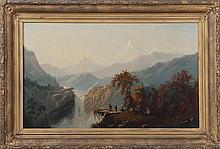 S.W. FRENCH (American, 19th century), mountainous