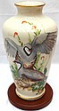 Lenox Game Bird Vase Signed Van Roy Gersden with Stand