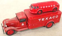 Lot of (3) Texaco Banks