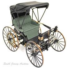 Franklin Mint 1893 Die-Cast Duryea Automobile Model