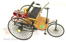 Franklin Mint Die-Cast 1886 Benz Patent Motorwagen Automobile Mode