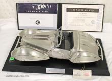 Franklin Mint 1937 Delahaye 135M Figoni ET Falaschi Cabriolet in Fine Pewter 1:12 Scale 0137/1000 Limited Edition