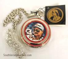 Franklin Mint Collector's Choice Precision #3 Dale Earnhardt Pocket Watch