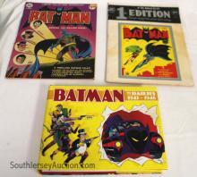 Lot of (3) Comic Books