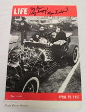 Life Magazine April 29, 1957 Signed by Norm Grabowski