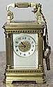 Antique French Carriage Clock, 4