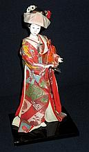 Handpainted Porcelain Geisha Doll