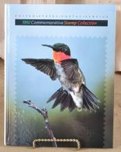 Filled 1992 US Commemorative Stamp Book