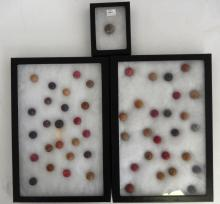 Vintage Various Color Clay Marbles